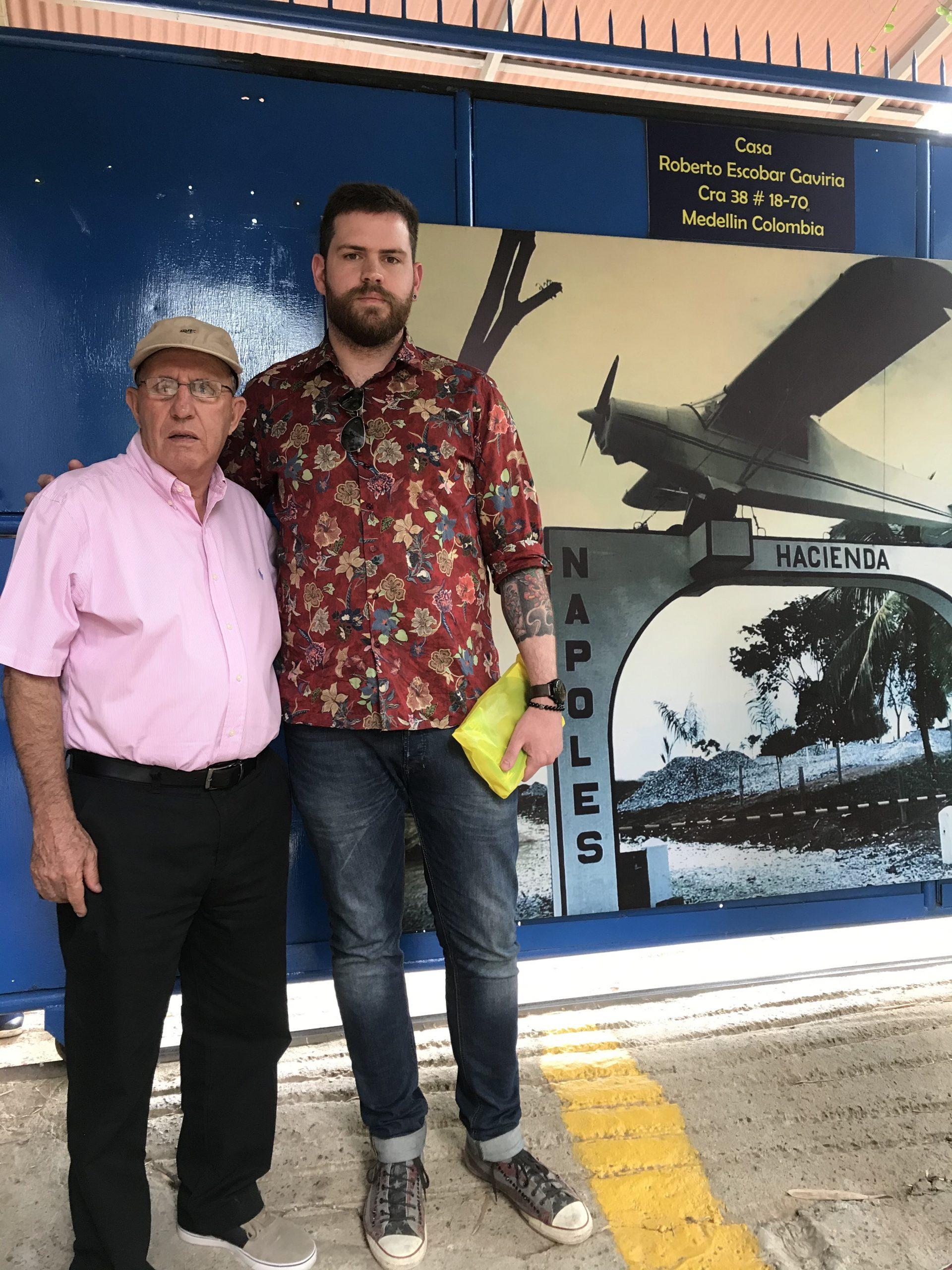 Roberto Escobar & me
