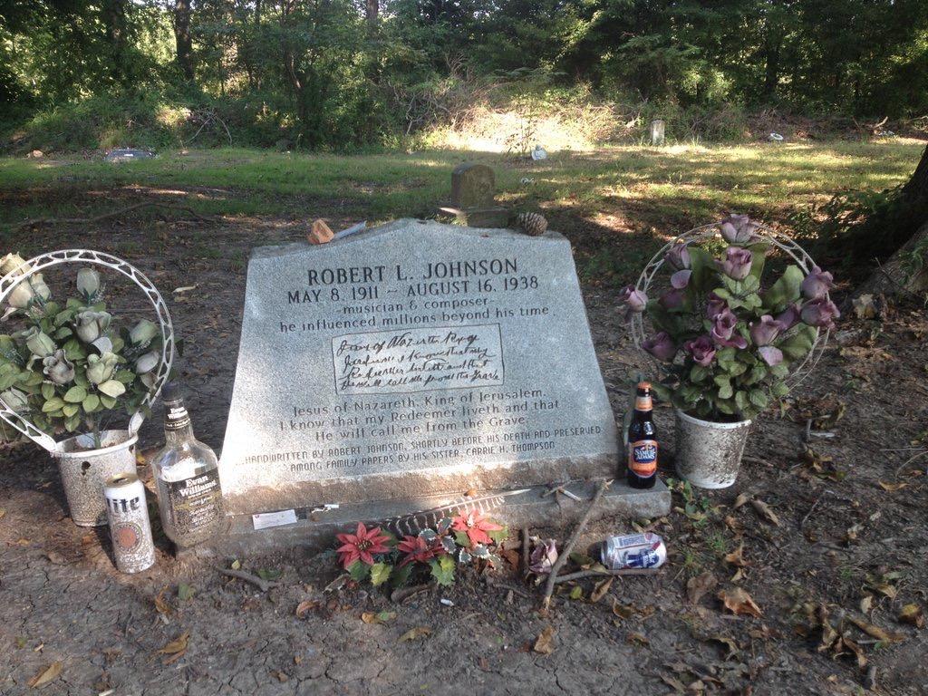 Robert Johson's grave