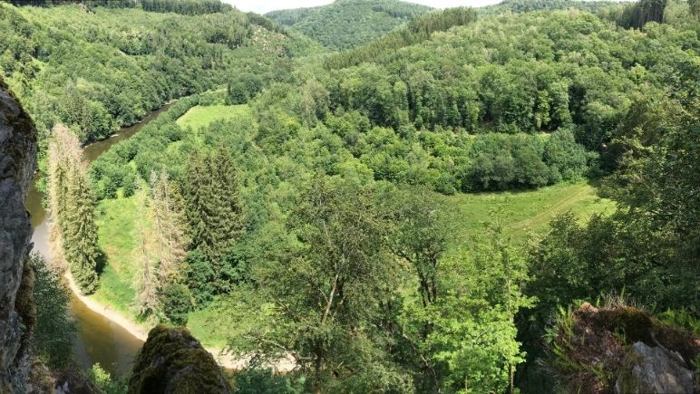 View of the Semois Valley