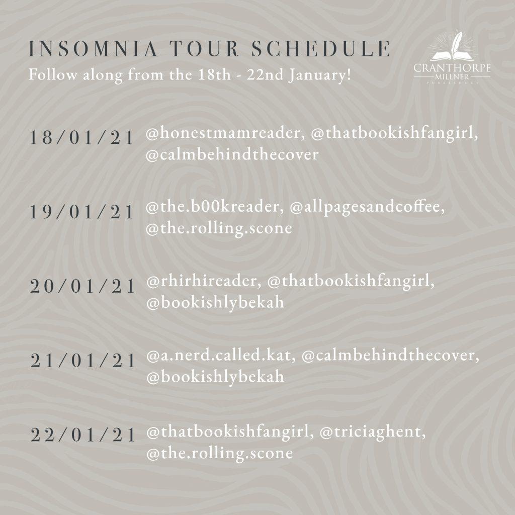 Insomnia Tour Schedule
