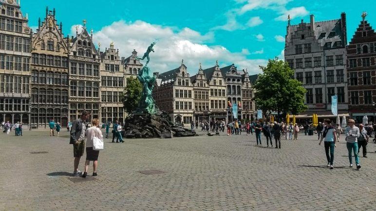 Grand Place Antwerp